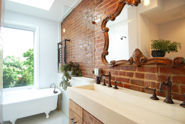 Дизайн білої ванної кімнати (75 фото): «чиста» гармонія