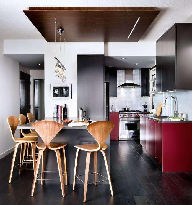 Дизайн кухні-студії: 85 кращих реалізацій і тонкощі студійної планування