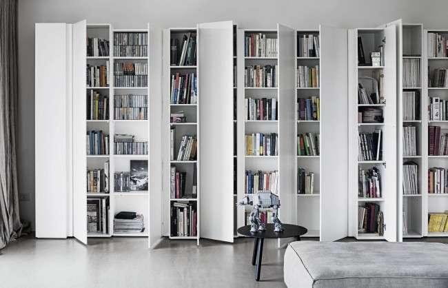 Книжкові шафи бібліотеки для будинку: як вибрати і розмістити правильно