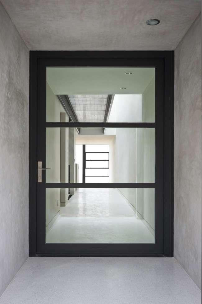Скляні міжкімнатні двері (60 фото): стильне рішення інтерєру