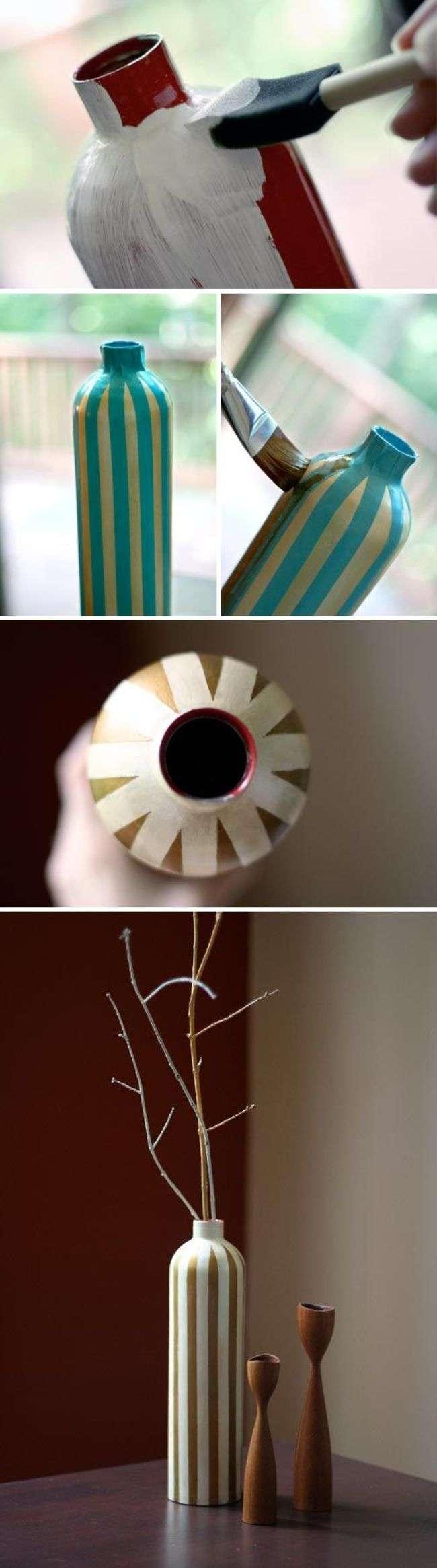 Підлогові вази своїми руками: 50 надихаючих ідей і кращі реалізації в інтерєрі