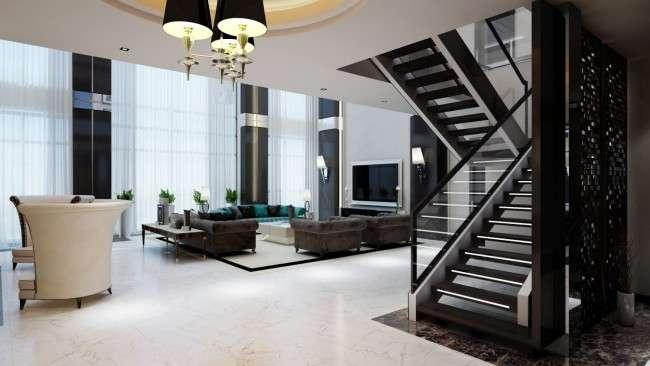 Двусветная вітальня: 5 рад по оформленню від дизайн-студії