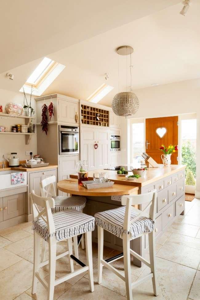 Кухня в стилі кантрі (53 фото): душевна простота сільського побуту