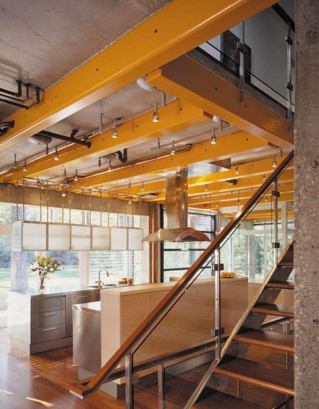 60 ідей балок на стелі: сучасне рішення для інтерєру