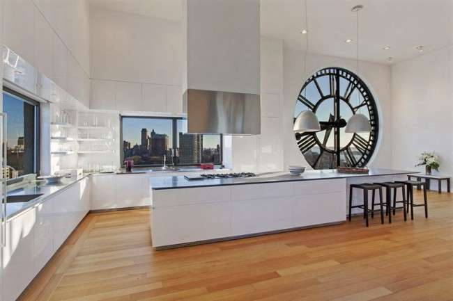 40+ Видів настінних годин на кухню: щасливі хвилини і годинник в затишному будинку