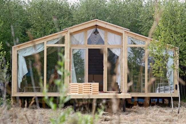 Дачні будиночки для 6 соток (проекти, 53 фото): малий золотник, та дорогий!