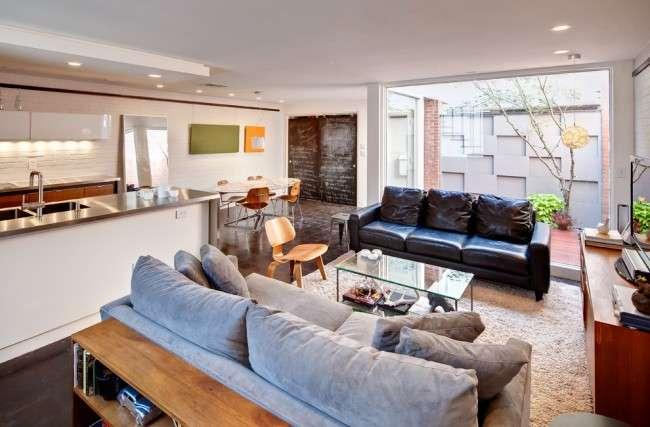 Диван-єврокнижка: як оптимізувати простір вітальні і 45+ ідей для стильного інтерєру