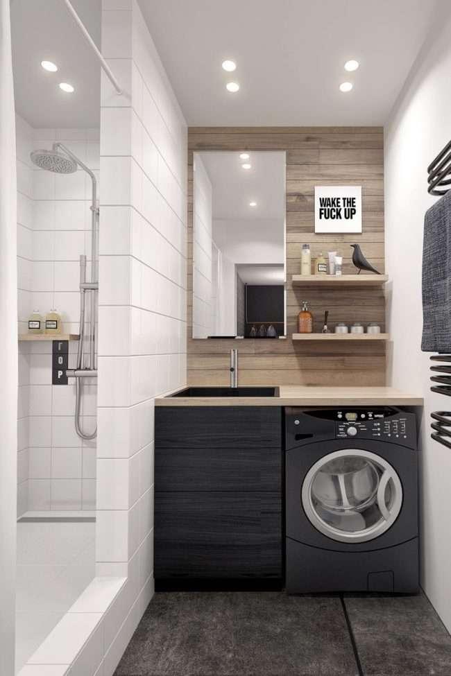 Дизайн невеликої ванної: як використовувати простір і 80+ функціонально продуманих інтерєрів