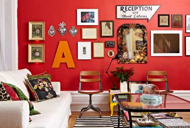 Еклектика — стиль в інтерєрі, як не перетворити мистецтво в хаос (фото)
