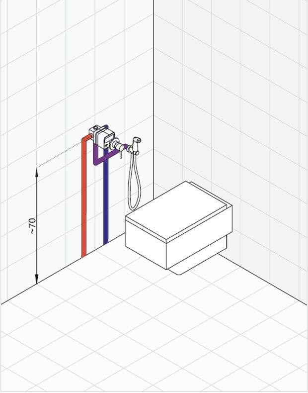 Гігієнічний душ із змішувачем прихованого монтажу: огляд 75+ мультифункціональних і практичних варіантів
