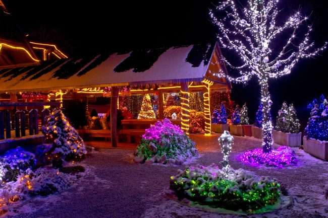 Як прикрасити сад до Нового року: 80 ідей, які перетворять ландшафтний дизайн вашого будинку