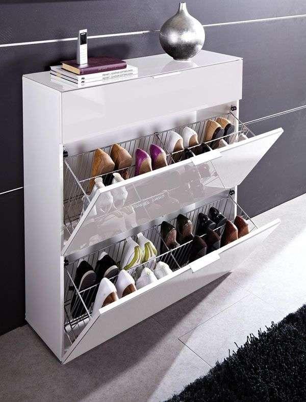 55 ідей як зберігати взуття в будинку: полиці, підставки, шафи