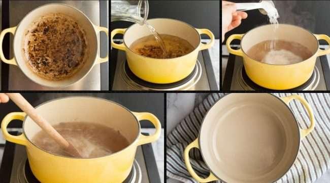Як очистити пригоріла емальовану каструлю? Огляд найкращих хімічних і народних засобів