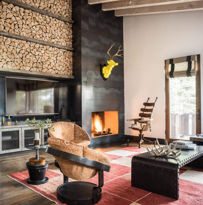Камін в інтерєрі квартири: 85+ розкішних варіантів в сучасному і класичному дизайні