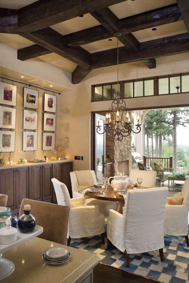 Кесонні стелі з дерева: 85 варіантів обробки для справжніх аристократів
