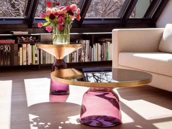 Скляний журнальний столик: 85 універсальних дизайнерських варіантів для будь-якого інтерєру