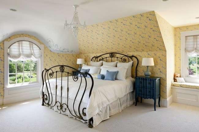 Ковані ліжка: 115 витончених рішень для інтерєру в стилі бохо, рустик і прованс