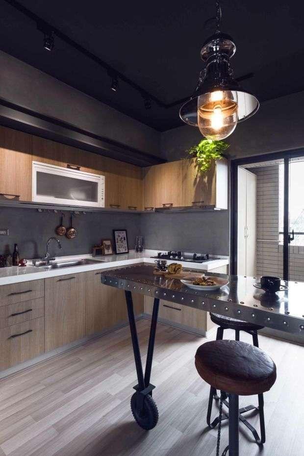 Кухня в стилі лофт: створюємо дивовижний дизайн