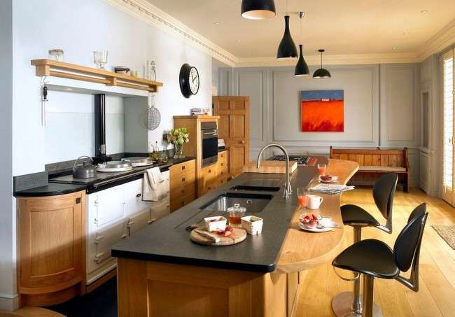 Дизайн кухні з барною стійкою: 40 трендів для сучасного і практичного інтерєру