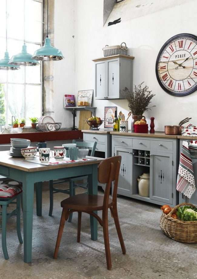Кухні в стилі кантрі і прованс: 85 елегантних і теплих рішень для цінителів затишку