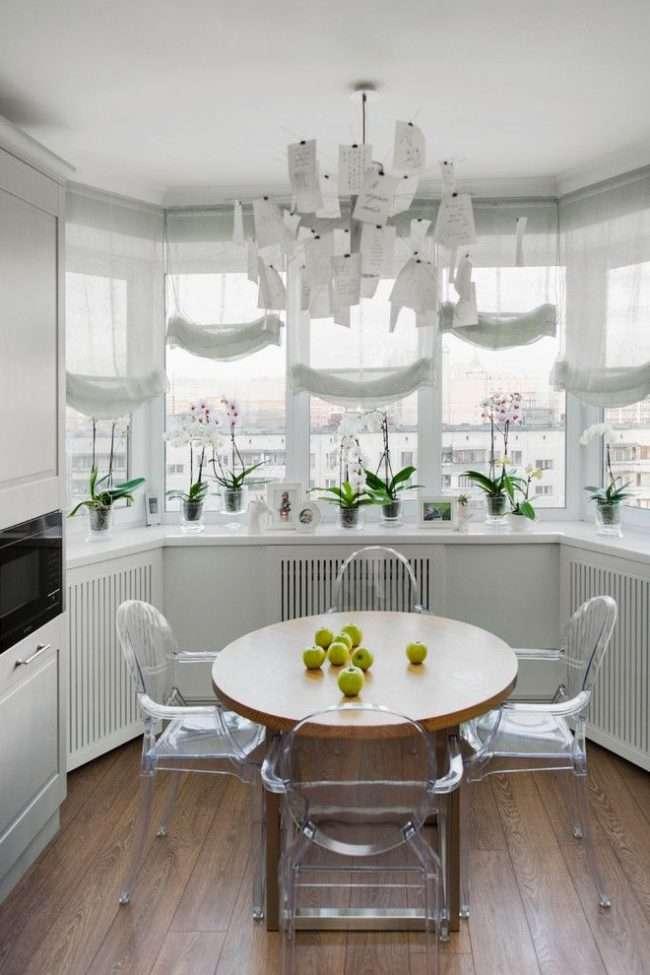 Обєднання балкона з кухнею: етапи перепланування та 70 найбільш комфортних реалізацій