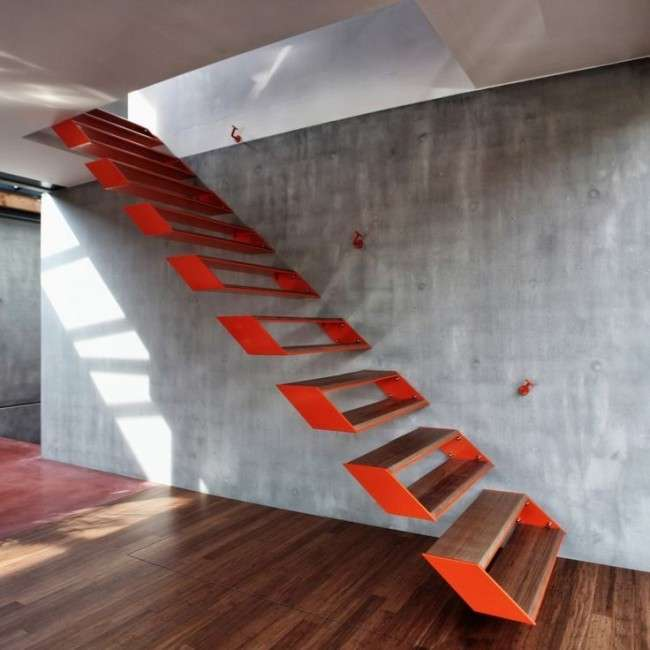 Сходи на другий поверх на металевому каркасі (59 фото): види та правила вибору