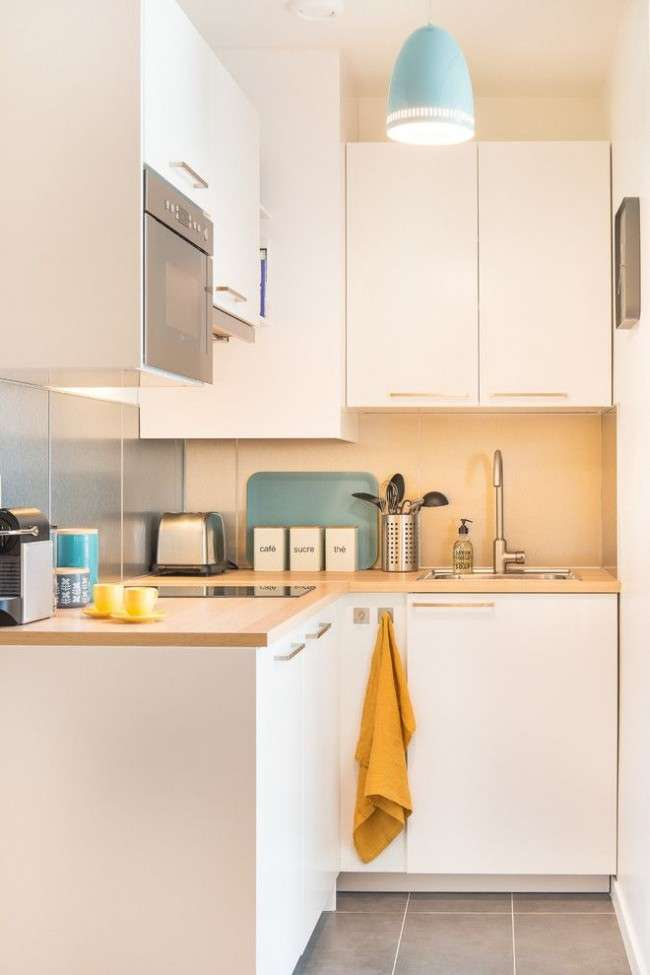 Як облаштувати маленьку кухню: 9 корисних порад для максимальної оптимізації простору