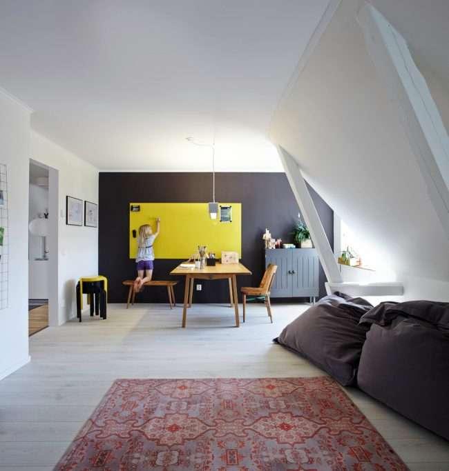 Маркерна фарба для стін: неосяжний простір для творчості і 65+ кращих варіантів виконання