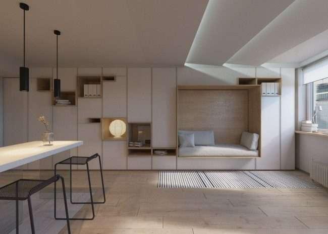 Вибираємо меблі-трансформер для квартири: огляд найбільш комфортних і функціональних рішень