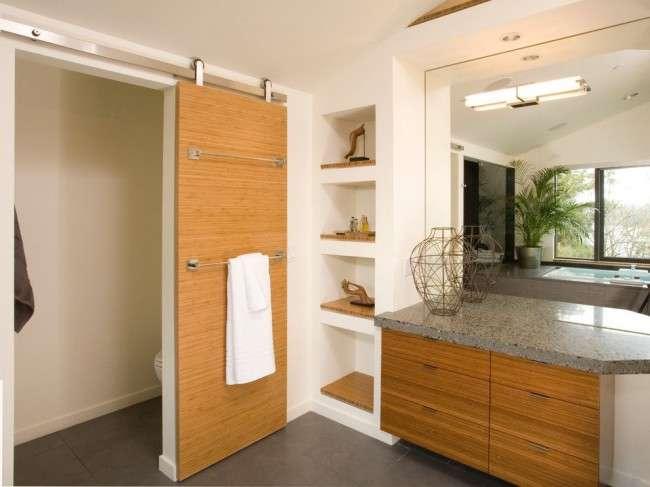 Міжкімнатні двері зі шпону (59 фото): що це таке і як вибрати правильно?