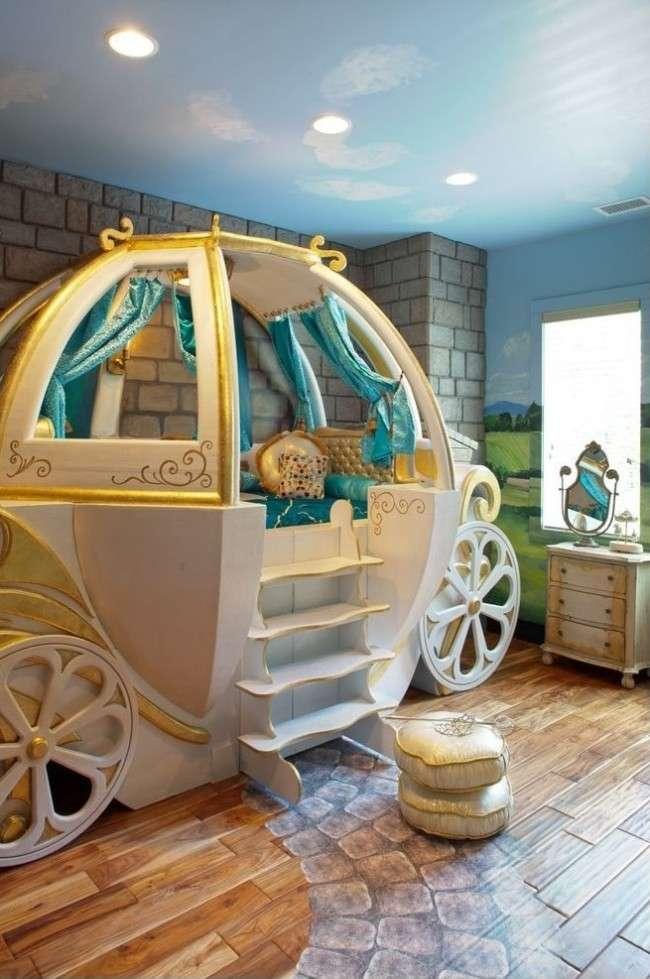 Натяжні стелі в дитячій кімнаті (63 фото): види й особливості вибору