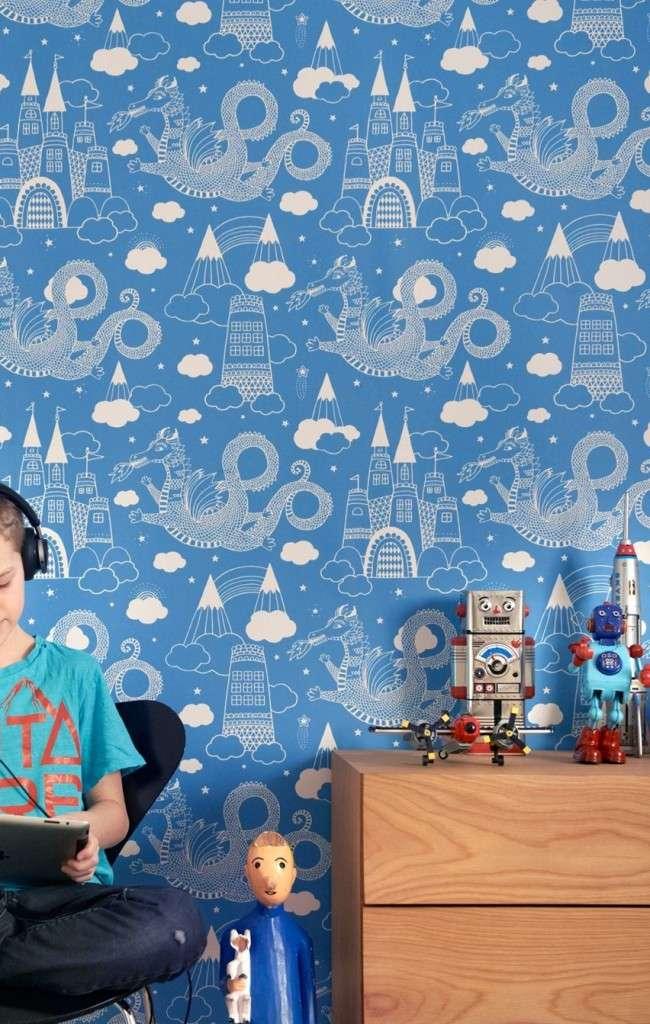 Дитячі шпалери для хлопчиків: поради щодо вибору та 70 найбільш яскравих і гармонійних прикладів дизайну