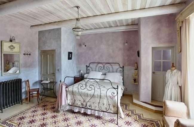 Шпалери в стилі прованс: 75+ втілень французького шику і чарівності в інтерєрі