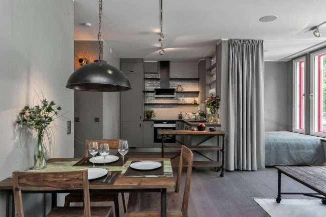 Дизайн-проект однокімнатної квартири: 85 елегантних рішень для оптимізації простору