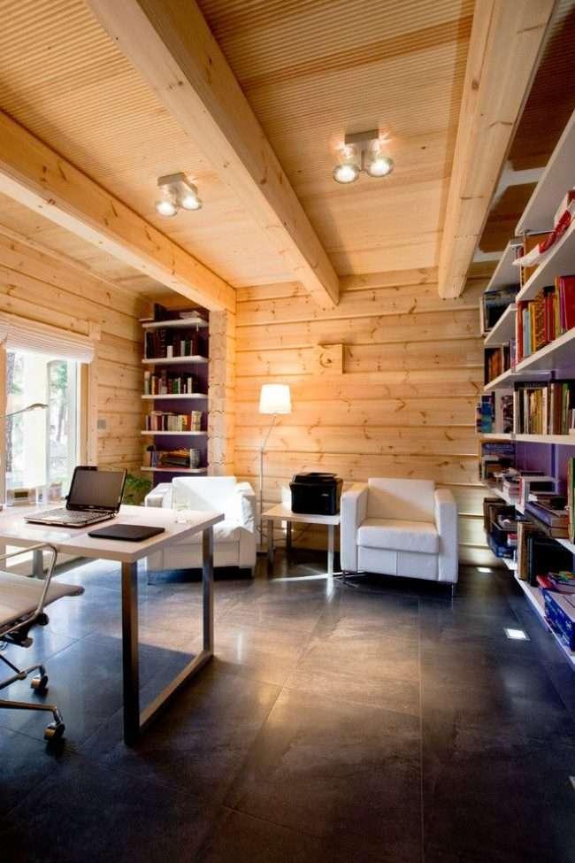Оздоблення всередині деревяного будинку: рекомендації по вибору матеріалів і 70 теплих і естетичних рішень