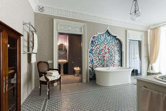 Панно з плитки в ванну: вибір справжніх естетів і 80 витончених інтерєрних реалізацій