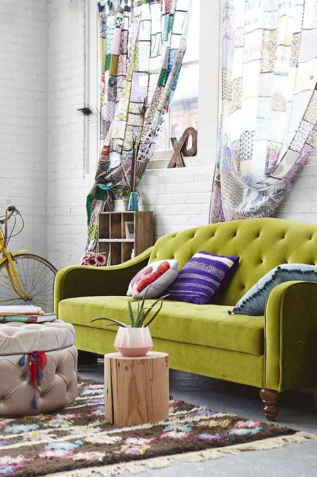 Штори в стилі печворк: 70+ затишних ідей для будинку і як зшити своїми руками