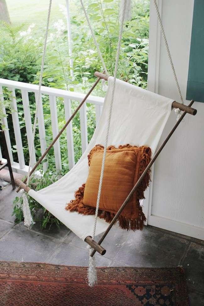 Підвісні крісла своїми руками: 40+ надихаючих ідей і покроковий процес створення