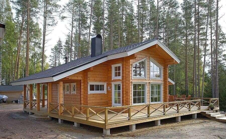Проекти фінських будинків з бруса (49 фото): від мрії до реальності дуже близько