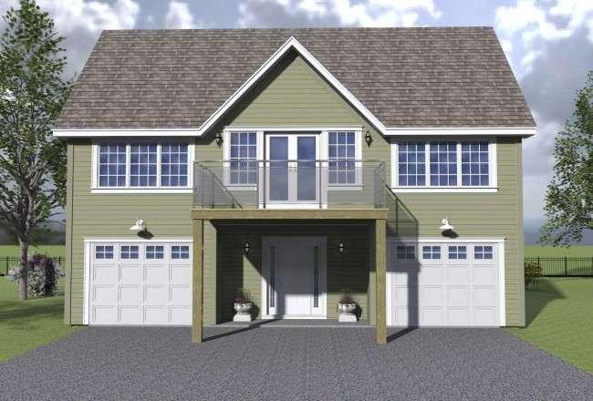 Проекти каркасних будинків з гаражем своїми руками: технології будівництва, схеми та переваги
