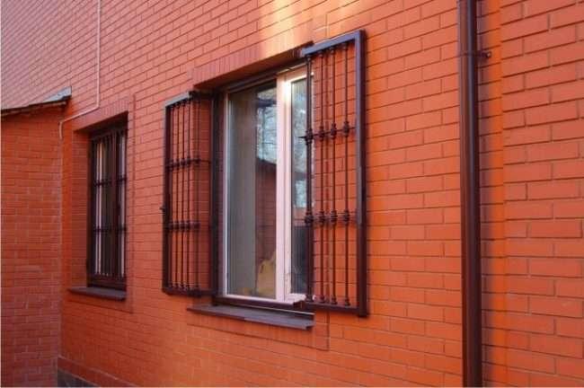 Решітки на вікна для дачі: вибір оптимальної конструкції та 70 найбільш елегантних і безпечних варіантів