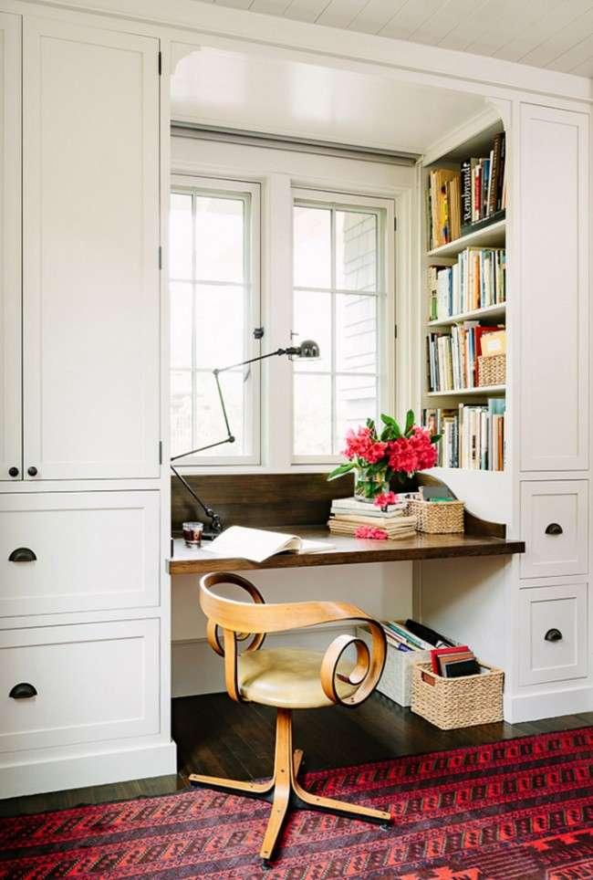 55 ідей дизайну робочого місця: біля вікна, в шафі, дитяче робоче місце