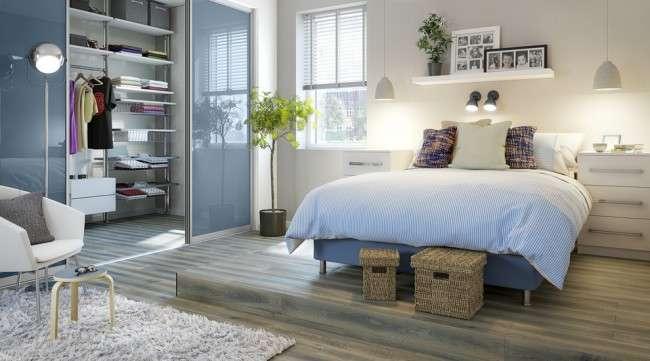 Шафа-купе в спальні: 100+ функціональних ідей для оптимізації простору