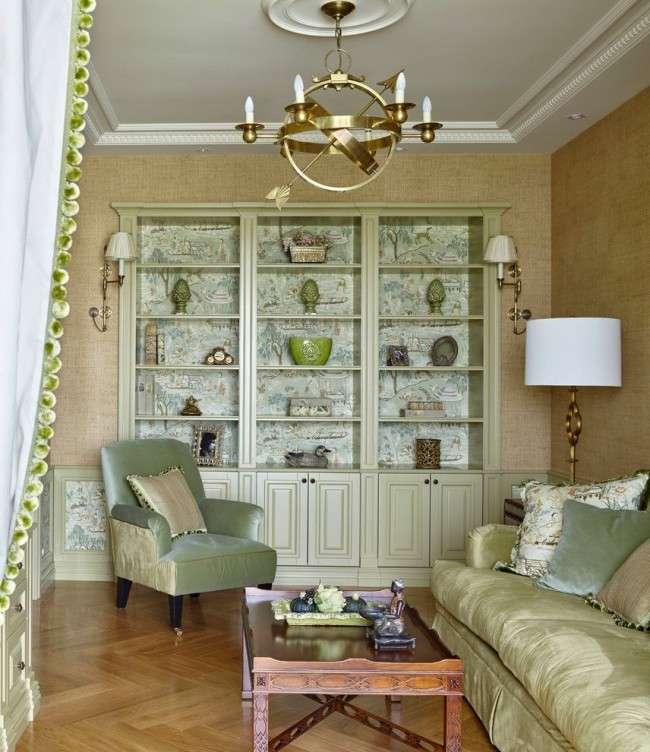 Стінка в вітальню в сучасному стилі (60 фото): яка вона?