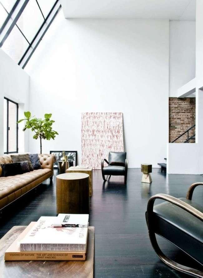 60 ідей темного підлоги в інтерєрі: варіанти оформлення, кращі поєднання (фото)