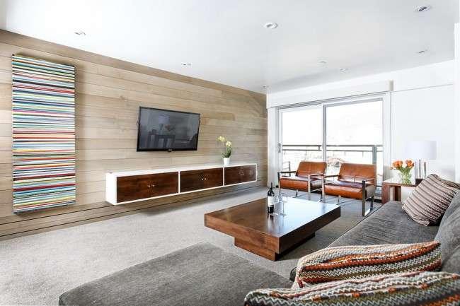 Тумбочка під телевізор: 45 сучасних ідей для вітальні (фото)