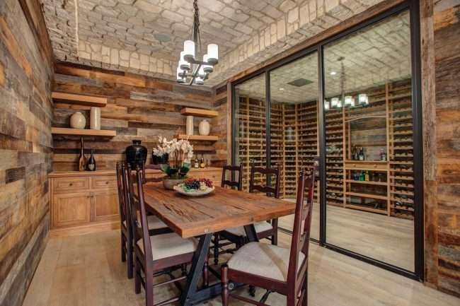 Винний льох будинку: тонкощі облаштування та 90 атмосферних і витриманих реалізацій