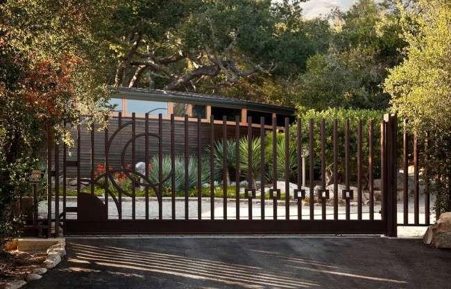 Ворота відкатні ворота своїми руками (57 фото): види, особливості пристрою і монтажу