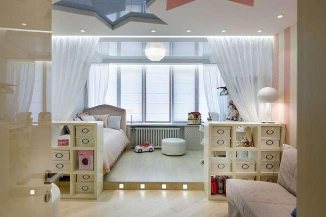 Зонування шторами: 80 кращих ідей для раціонального використання простору