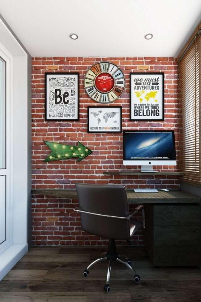 Балкон в стилі лофт: поради по розширенню простору і 70+ стильних реалізацій